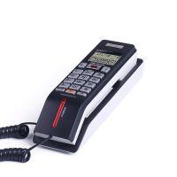 中诺G028 壁挂式电话机座机家用酒店客房挂墙小型电话 来电显示