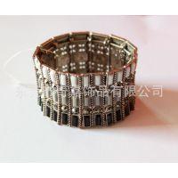 厂家供应 韩版明星街拍(女侠)复古手镯 金属锌合金压铸手环