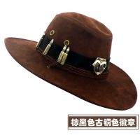 守望先锋麦克雷骑士牛仔太阳帽加强款宽边遮阳渔夫帽出行便利