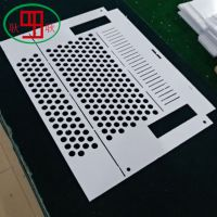 5mm乳白色pc板高难度雕刻打孔加工,厂家CNC精度加工,保证质优价廉