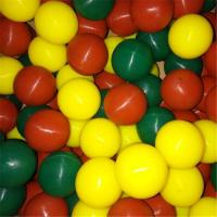 定制振动筛 食品级高弹力硅胶球 白色弹力硅胶球