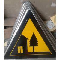 甘肃武威交通标志牌指示牌安全标识镀锌杆定制加工