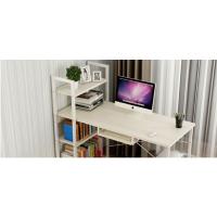 厂家直销钢木台式电脑桌家用简约现代学生卧室书架简易桌子