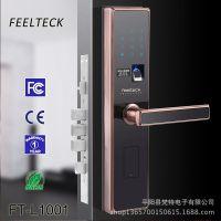 厂家指纹密码锁 手机app智能锁刷卡电子指纹家居防盗大门锁