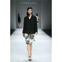 颜诺深圳一线原创设计师女装19春新款衣叁唯品品牌折扣走份正品