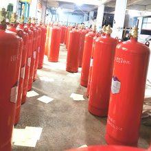 100l七氟丙烷柜式灭火装置 消防气体自动系统 消防柜 南京