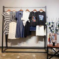 上海品牌觅玛19夏装时尚简约休闲知性端丽品牌女装尾货折扣分份批发