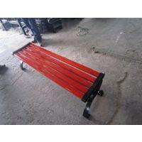 厂家供应广场实木公园椅 木制小区长条椅