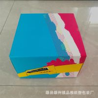 彩印手提烘焙蛋糕纸盒定做通用生日蛋糕盒食品包装盒定制logo
