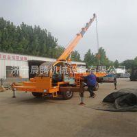 定制改装5-10吨小型吊车 平板吊车 四不像平板吊车 随车吊厂家