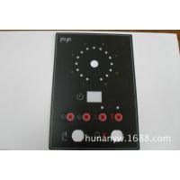 供应PVC标牌、机械面板标贴、电子产品标签  PC凹凸按键薄膜开关