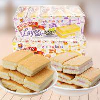 马来西亚进口伦敦原味夹心蛋糕360g 下午茶糕点零食办公室零食