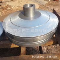 铸造厂家加工 铸铁圆形底座 餐桌灯饰圆形底座 定做异形铸铁底座