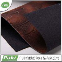 现货直销压花PU人造革 软硬包皮料 压纹人造PU皮 手袋皮革面料