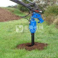 新螺旋钻孔机 专业挖掘机液压钻坑机 机械挖孔机
