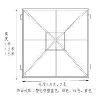 建筑工地金属板网 耐磨钢制喷塑工地爬架网 高空施工防护提升架