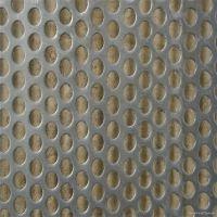 圆孔镀锌孔网 穿孔网价格多少 优质加厚冲孔板