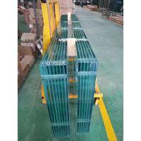 河南15mm超白+2.28PVB+15mm超白夹胶钢化玻璃