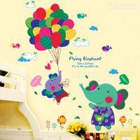 床上装饰品女生婴儿房间布置用品儿童房墙壁宝宝装饰墙纸贴画墙贴