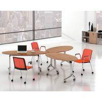 特价移动会议桌书桌会客洽谈办公桌电脑桌带轮子