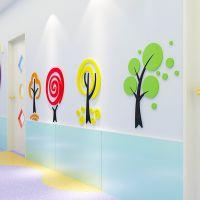 亚克力3d立体墙贴儿童房间布置卧室幼儿园墙面装饰品教室贴纸贴画