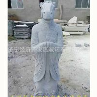 汉白玉十二生肖石雕摆件批发 人身兽面十二生肖雕像 精工打造