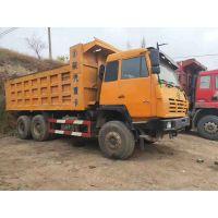 山西忻州鸿运二手车信息部供应大量14年陕汽奥龙后八轮自卸车,340马力,5.8米货箱