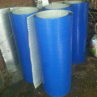 公路铁艺护栏冲孔网 卷板 海蓝色圆孔网 厂家批发 彩钢板洞洞板