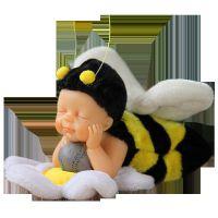 迷你礼物拇指娃娃装饰品可爱仿真婴儿玩具七夕宝宝创意欧式小摆件