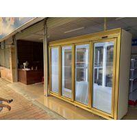 饮料柜冷藏展示柜商用立式前后开鲜奶啤酒风冷保鲜柜大容量冷柜