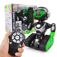 灯光音乐电动万向跳舞遥控机器人智能早教益智学习机器人儿童玩具