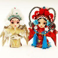 京剧人物娟人娃娃公仔摆件中国风小礼品商务出国送老外小礼品