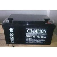 冠军蓄电池12V65AH 冠军蓄电池NP65-12 直流屏机电设备专用