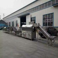 包装袋清洗风干流水线 食品沥水风干专用设备 诸城神州机械