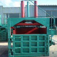 厂家定做废铁废料打包机 节省人工旧衣服压包机 力锋液压立式20吨打包机