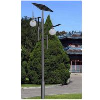 安徽六安太阳能路灯厂家扬州长悦照明生产销售高亮LED防水太阳能庭院灯