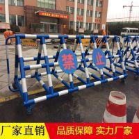 壹路通高压喷漆拒马_圆管移动隔离栏杆生产厂家