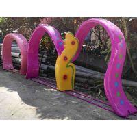 广州鸿波水上乐园设备供应儿童戏水小品章鱼拱门