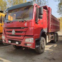 山西忻州鸿运二手车信息部供应大量豪沃重汽工程自卸车,336马力,5.6米大箱,AC16吨后桥