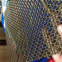 金属装饰网 厂家定制 金属环网 装饰环网