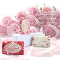 天然玫瑰精油皂 意大利进口香皂多功能泡沫手工皂美玉玫瑰沐浴皂