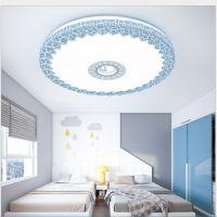新款LED吸顶灯圆形客厅简约现代卧室灯书房灯阳台过道灯餐厅灯具
