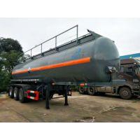 牵引危险品运输半挂车 17.8L盐酸半挂运输车 腐蚀性物品罐式运输车