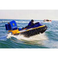 水陆两栖气垫船抢险救援新装备