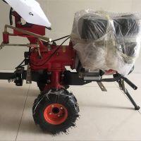手推式小型松土机 微型汽油除草机 大棚翻土机旋耕机
