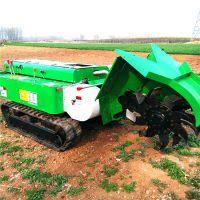 履带式安耕机 五大工具配置齐全开沟机