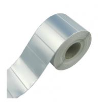 定做亚银PET条码标签纸100*90消银龙不干胶标签纸防油耐撕规格可选交货及时