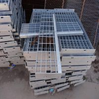 303现货钢格板 水沟盖板 排水下水格栅