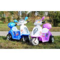 供应儿童新款小木兰电动三轮摩托车男女宝宝三轮摩托车童车玩具车