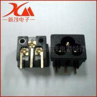 供应 梅花尾插座 AC纯铜插脚 高质量梅花尾插座品质保障